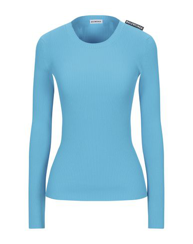 Balenciaga Sweater In Turquoise