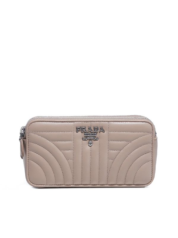 Prada Clutch In Cipria