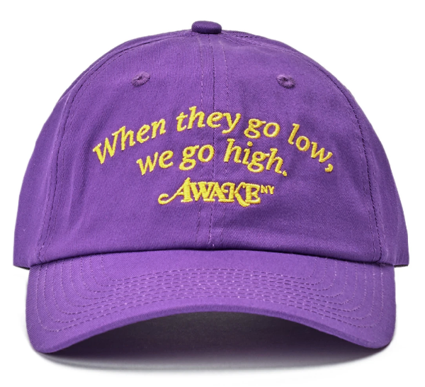 Awake Michelle Hat Purple