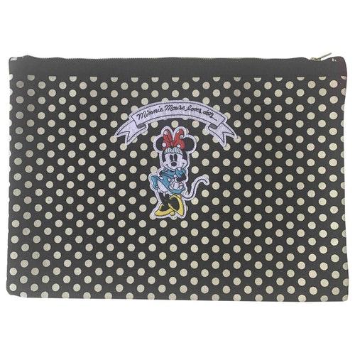 Olympia Le-tan Multicolour Cotton Clutch Bag