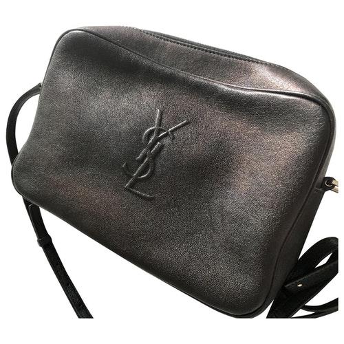 Saint Laurent Camera Lou Leather Handbag