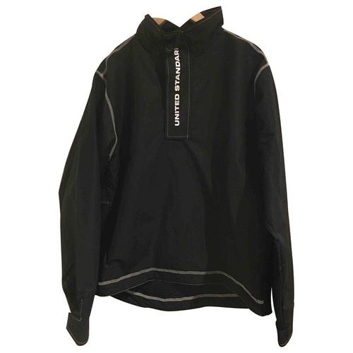 United Standard Black Cotton Jacket