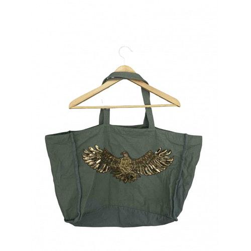 Swildens Khaki Cotton Travel Bag
