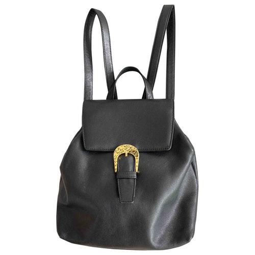 Nina Ricci Black Leather Backpack