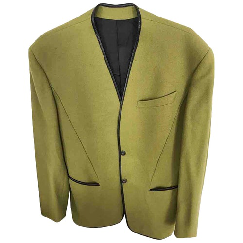Mugler Green Wool Jacket