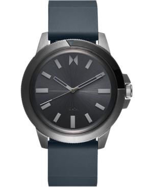 Mvmt Men's Minimal Sport Gray Silicone Strap Watch 45mm In Gunmetal