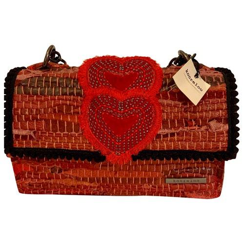 Kooreloo Red Cotton Handbag