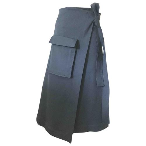 Rosetta Getty Black Skirt