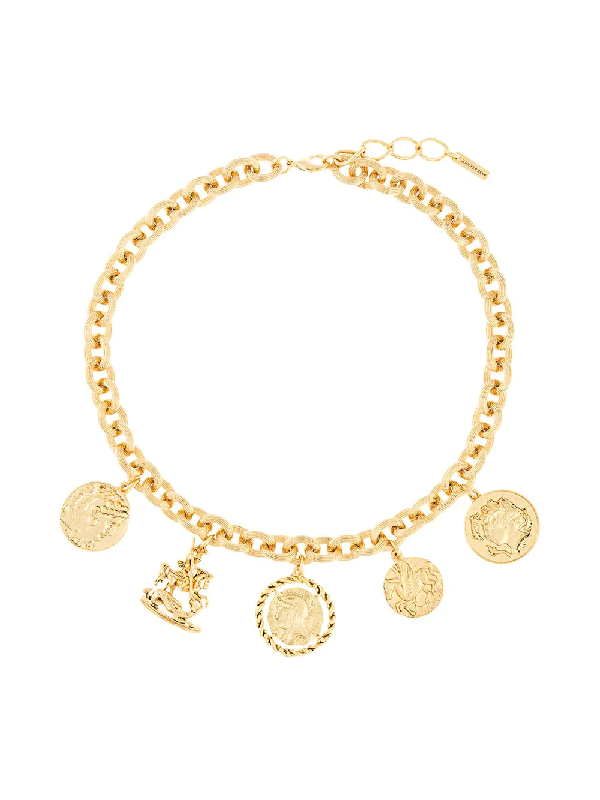 Jennifer Behr Romulus Short Necklace In Gold