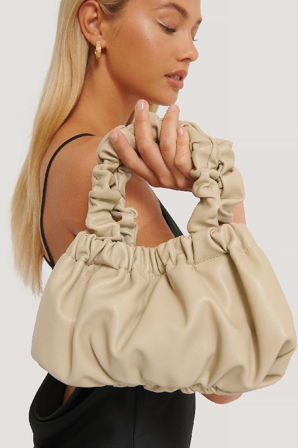 Misslisibell X Na-kd Wrinkle Bag Beige