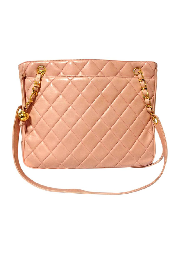 Chanel Pink Tote Bag