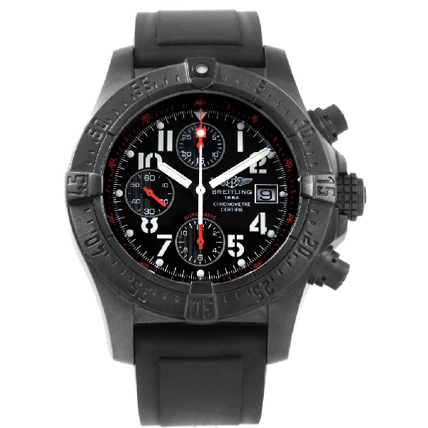 Breitling Aeromarine Avenger Skyland Blacksteel Limited Watch M13380 In Not Applicable