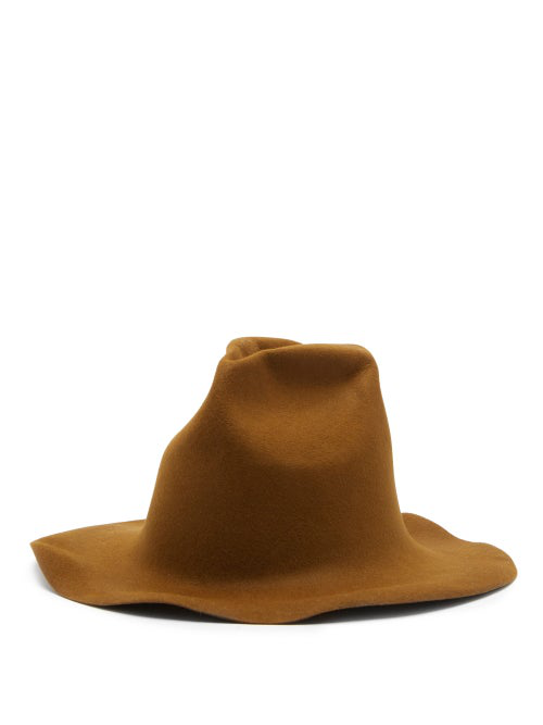 Reinhard Plank Hats Spaventa Felt Hat In Brown