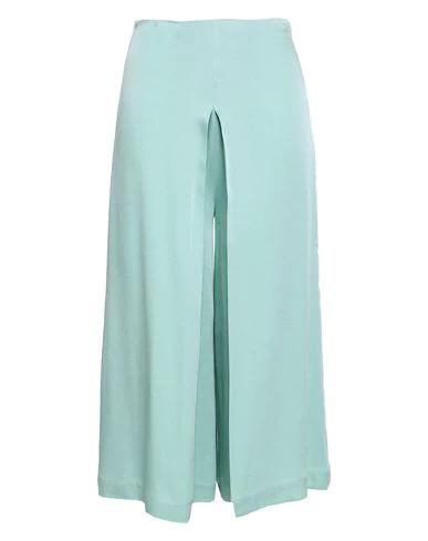 Les HÉroÏnes By Vanessa Cocchiaro Cropped Pants & Culottes In Blue