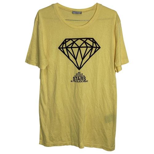Dior Yellow Cotton T-shirts