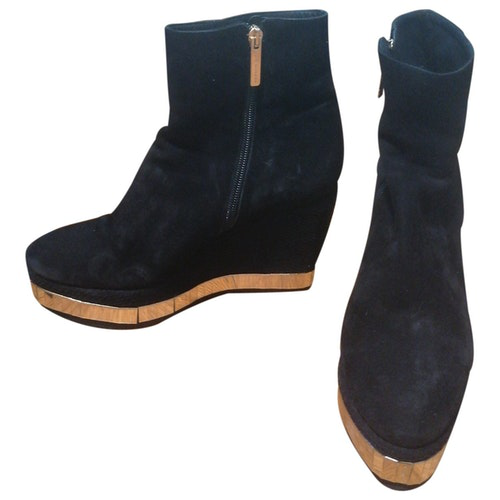 Luis Onofre Black Suede Boots