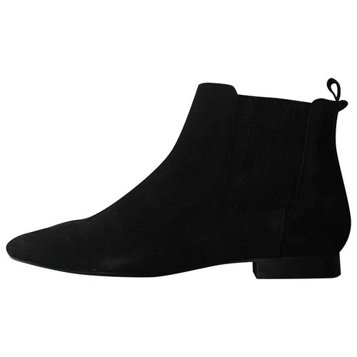 Hudson Pink Suede Boots