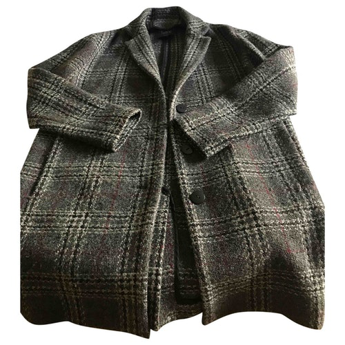 Swildens Grey Wool Coat