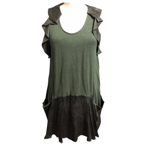 Vanessa Bruno Green Cotton Dress