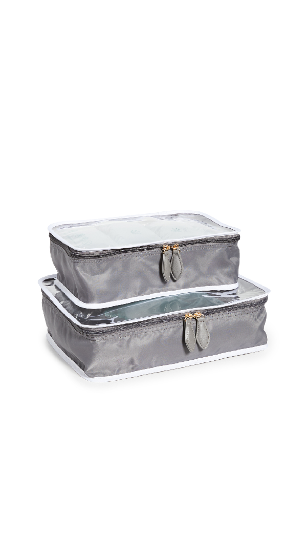 Paravel Shoe Cube Set In Gray