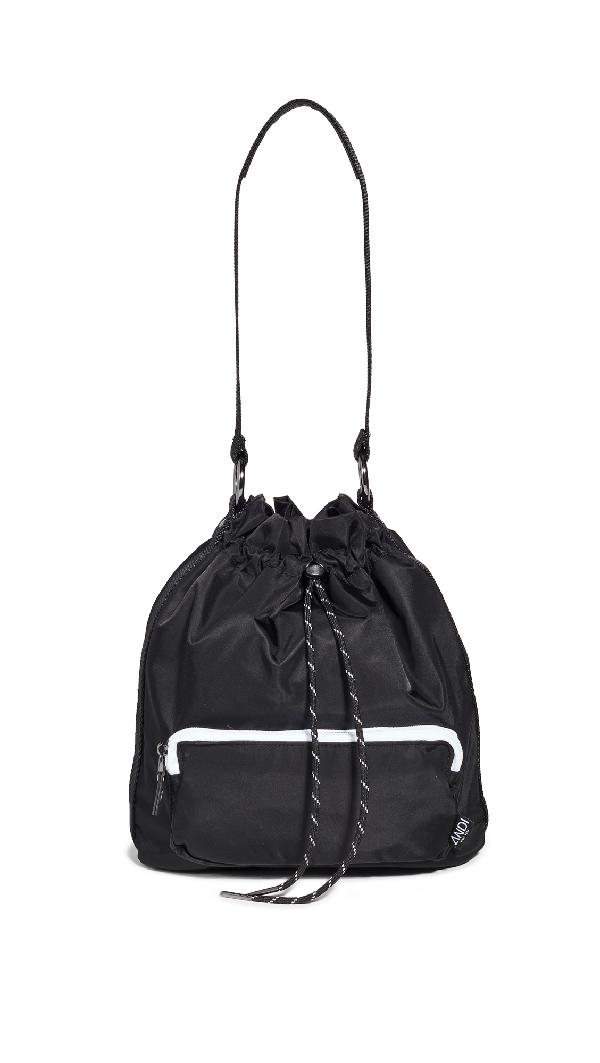 Andi The Bucket Crossbody Bag In Black