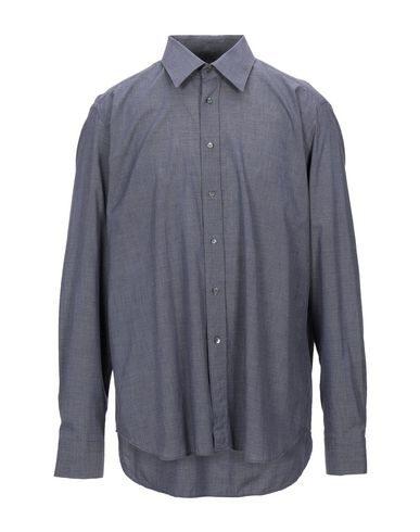 Robert Friedman Patterned Shirt In Dark Blue