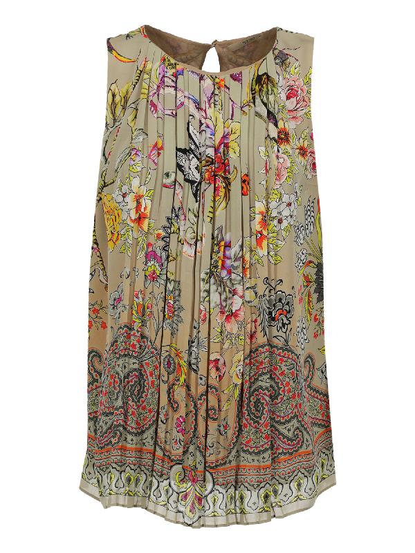Etro Clothing In Beige, Multicolor