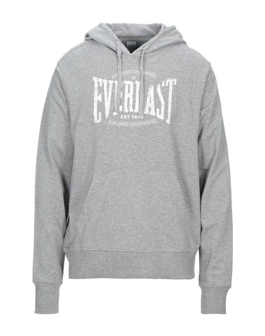 Everlast Hooded Sweatshirt In Light Grey