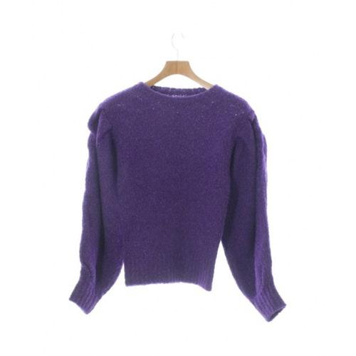 Isabel Marant Étoile Purple Wool Knitwear