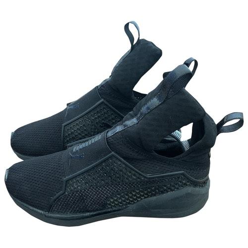 Fenty X Puma Black Trainers