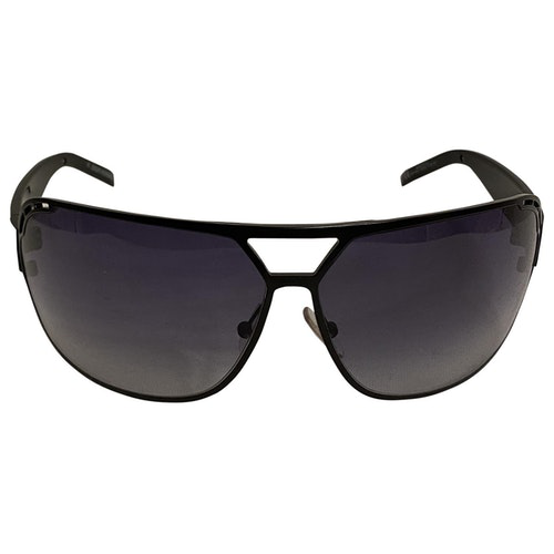 Dior Black Metal Sunglasses