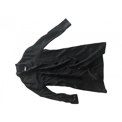 Equipment Black Silk Dress