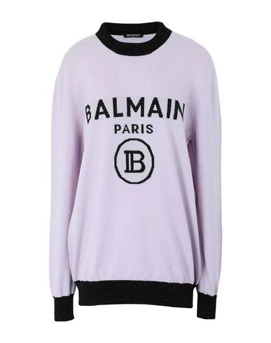 Balmain Sweater In Lilac