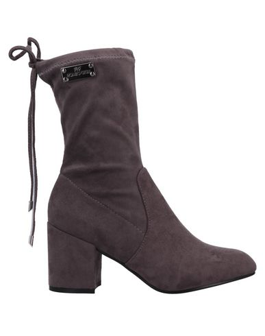 Romeo Gigli Ankle Boot In Grey