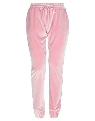 Plein Sport Casual Pants In Light Pink
