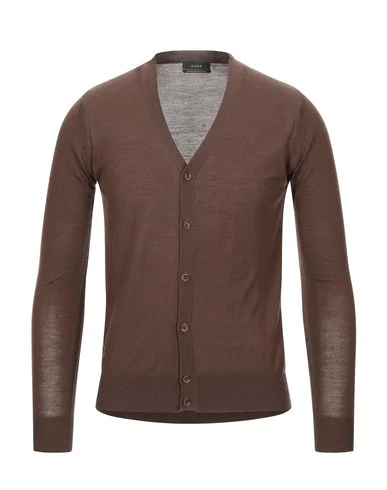 Kaos Cardigan In Dark Brown
