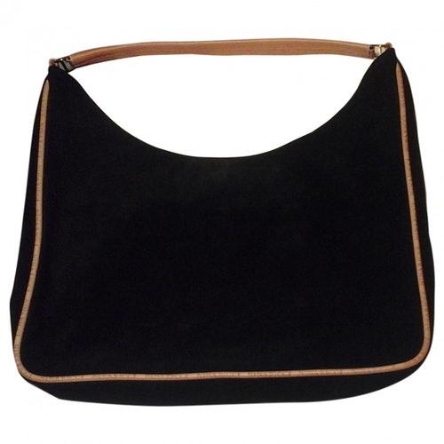 Nina Ricci Black Suede Handbag
