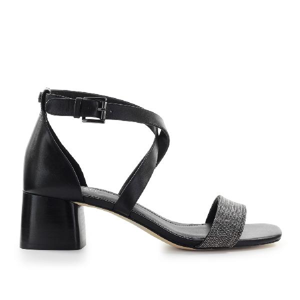 Michael Kors Daine Mid Black Sandal