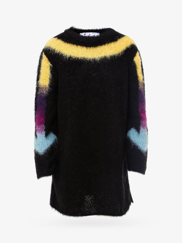 Off-white Sweater In Black