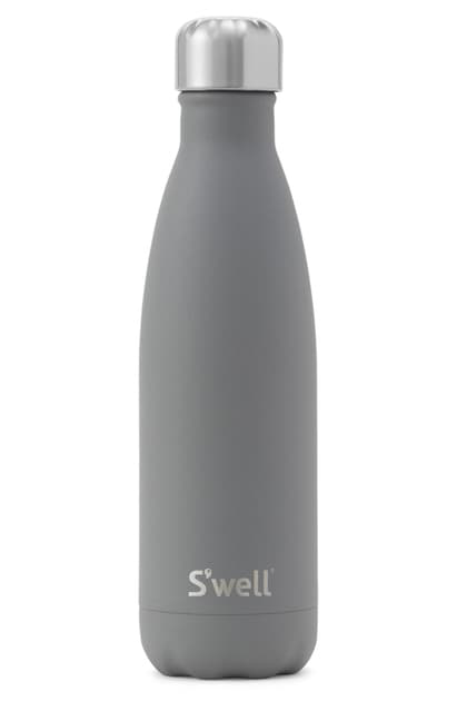 S'well Smokey Quartz 17-ounce Insulated Stainless Steel Water Bottle