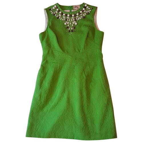 Milly Green Cotton Dress