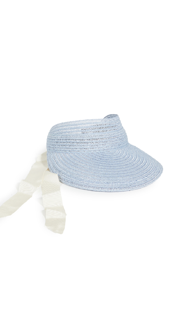 Eugenia Kim Ricky Visor In Blue