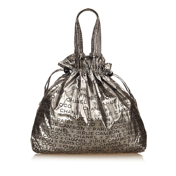 Chanel Unlimited Tote Bag In Grey