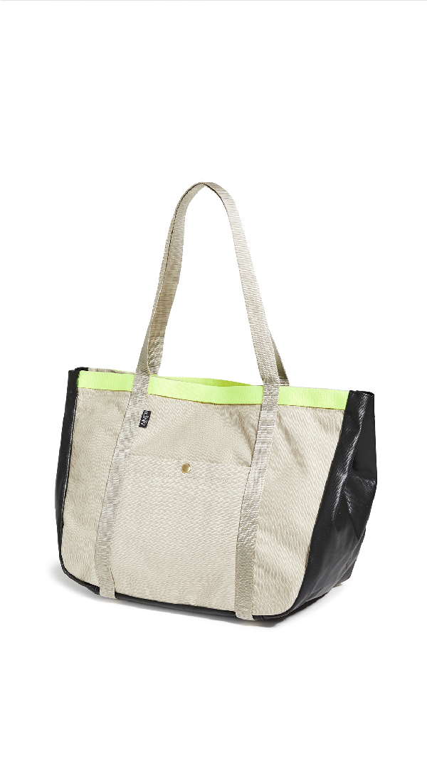Andi Summer Tote In Sand/yellow