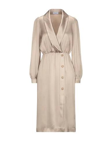 Hopper Knee-length Dress In Sand