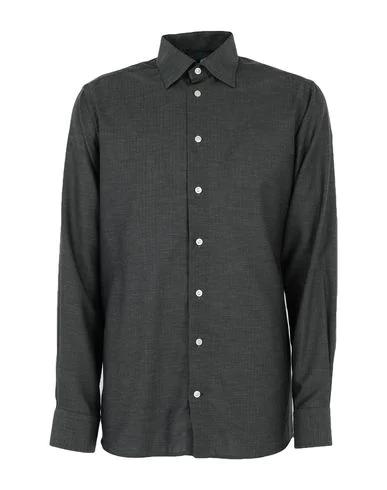 Robert Friedman Patterned Shirt In Dark Green