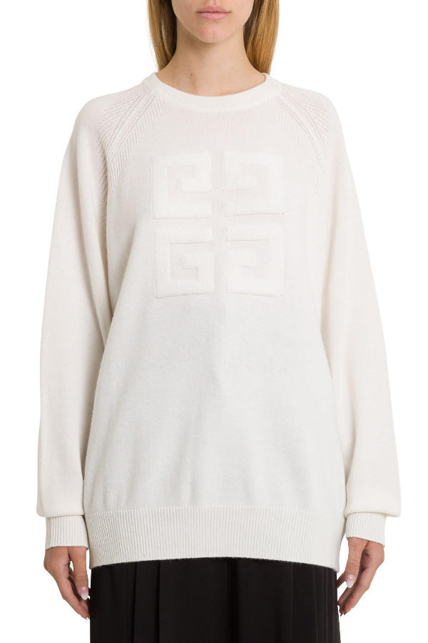 Givenchy 4g Jumper In White