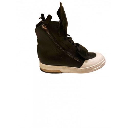 Artselab Black Leather Boots