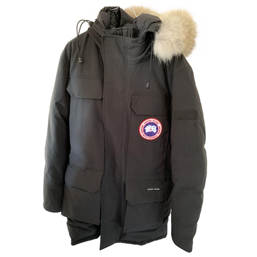 Canada Goose Expedition Black Coat