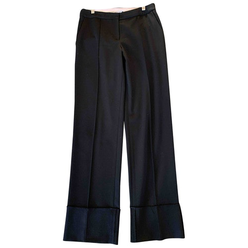 Protagonist Black Wool Trousers